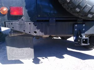 NAS solution for trailer hitch - do not do this!